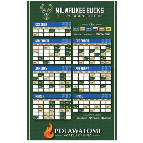 milwaukee-bucks-magnet-schedule-10-29-2016