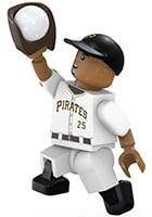 Pittsburgh Pirates OYO Gregory Polanco Buildable Mini Figurine 9-11-2016