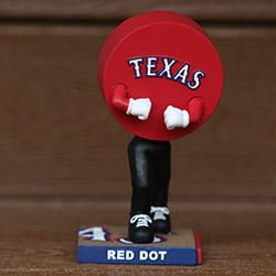 Texas Rangers Red Dot Bobblehead 9-3-2016