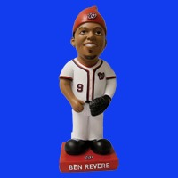 Washington Nationals Ben Revere Garden Gnome 9-27-2016