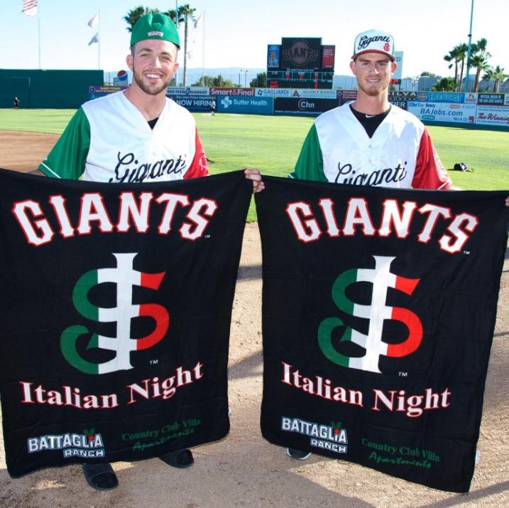 blanket - san jose giants - 9-3-2016