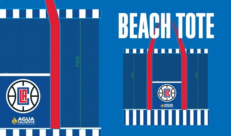 los-angeles-clippers-beach-tote-4-12-2017
