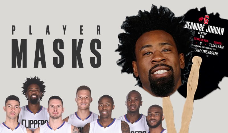 los-angeles-clippers-halloween-player-masks-10-31-2016
