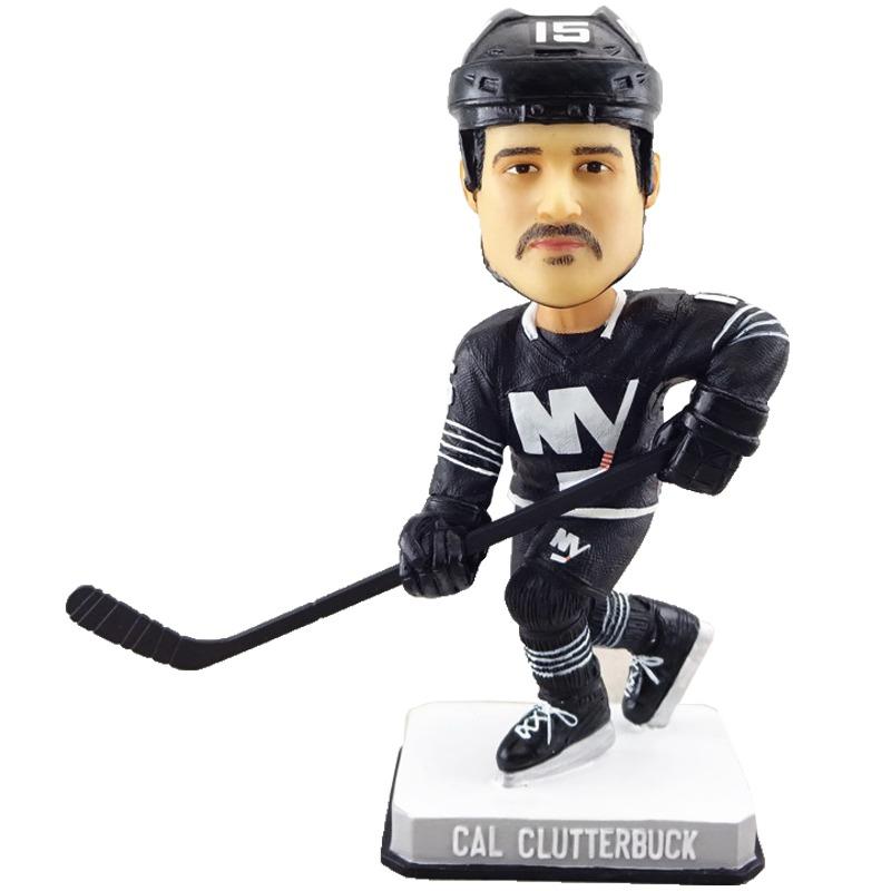 new-york-islanders-cal-clutterbuck-bobblehead-11-7-2016