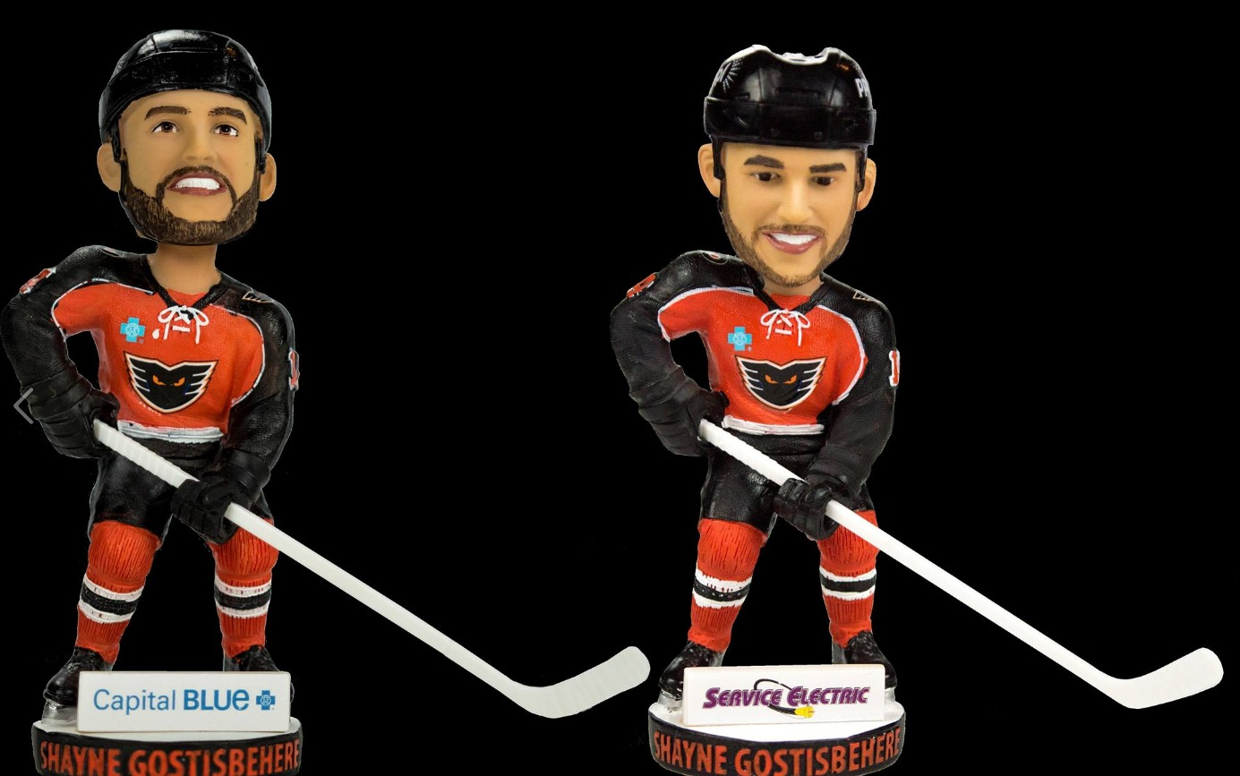 shayne-gostisbehere-bobblehead-lehigh-valley-phantoms-season-ticket-holders