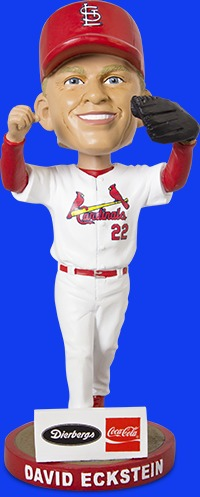 St Louis Cardinals David Eckstein Bobblehead 10-1-2016