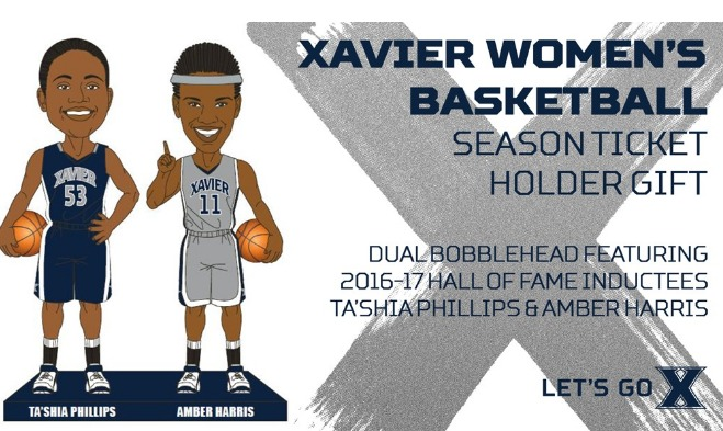 tashia-phillips-and-amber-harris-dual-bobblehead-xavier-university-womens-basketball-1-1-2016