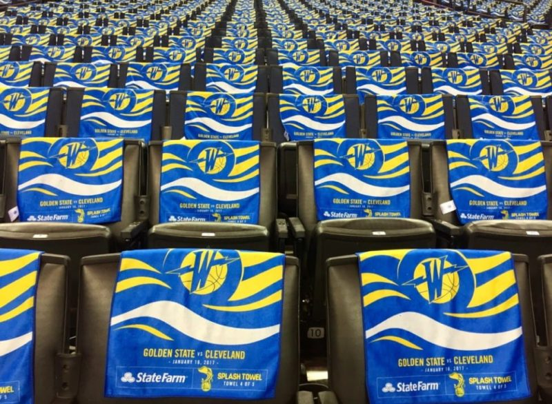 Golden state warriors giveaways