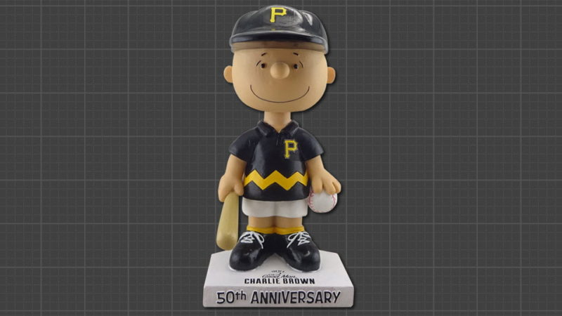 Game of thrones chair replica - August 3 2017 Pittsburgh Pirates Charlie Brown Bobblehead