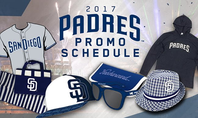 SAN DIEGO PADRES GIVEAWAY DAYS