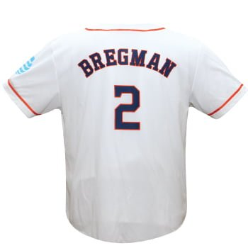 huge selection of 6682f ce50d April 29, 2017 Houston Astros - Alex Bregman Replica White ...