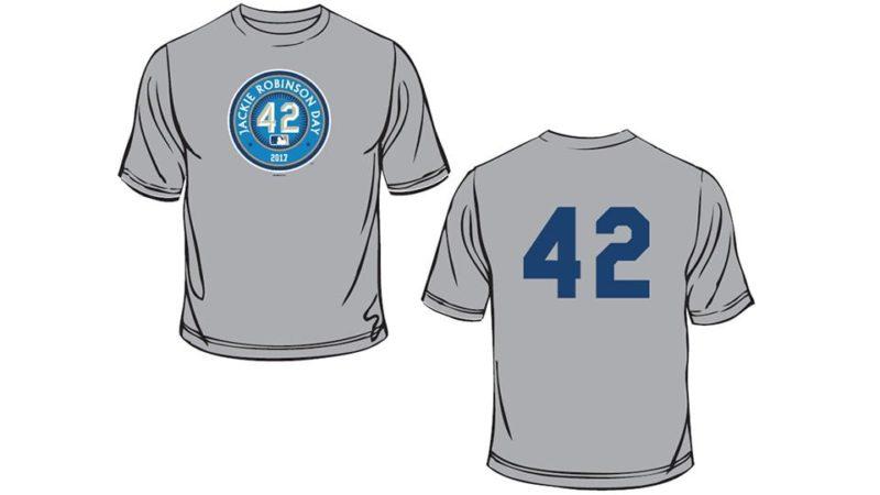 Jackie robinson t shirt little league