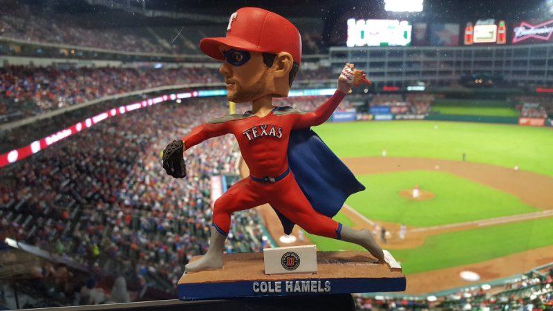 June 3 2017 texas rangers cole hamels super hero - Dallas home and garden show 2017 ...
