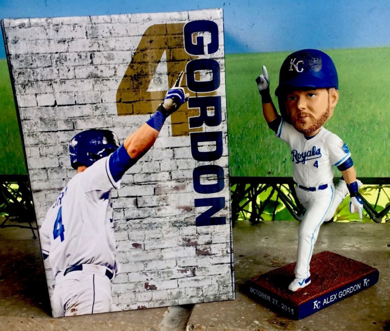 June 3 2017 Kansas City Royals Alex Gordon Bobblehead