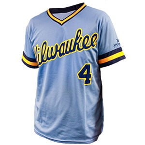 990a60f91de July 14, 2017 Milwaukee Brewers - 1982 Paul Molitor Replica Jersey ...