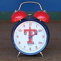August 13 2017 Texas Rangers Talking Alarm Clock