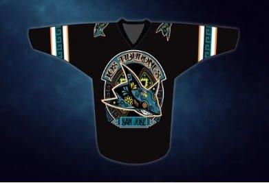 f7180f8a0 San Jose Sharks Los Tiburones Hockey Jersey Size XL 2018 Exc. Condition!