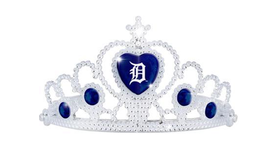 Detroit Tigers Tiara 5-27-2018