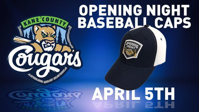 Kane County Cougars Opening Night Cap 4-5-2017