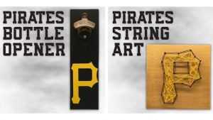 Pittsburgh Pirates String Art or Bottle Opener 8-3-2018