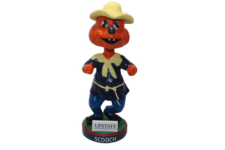 Syracuse Chiefs Scoochcrow Bobblehead 5-12-2017