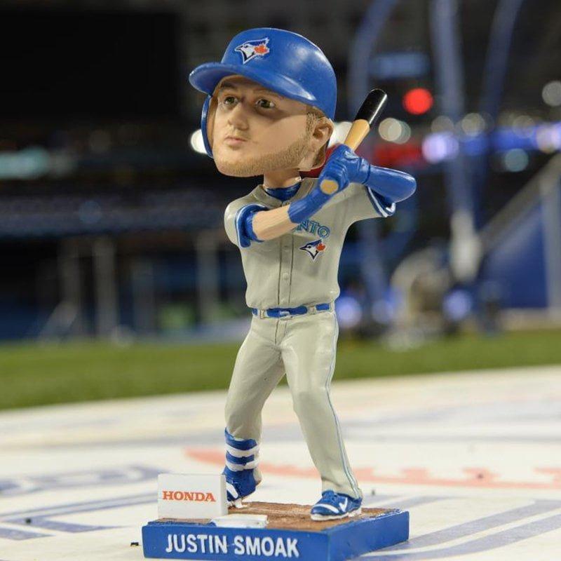 Toronto Blue Justin Smoak Bobblehead 3-31-18-2