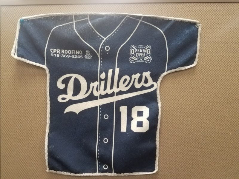 Tulsa Drillers Ralley Towel 4-13-2018