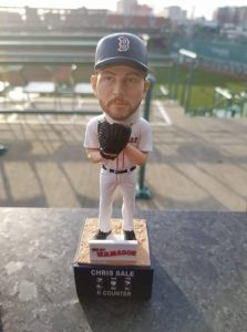 "Boston Red Sale ""K-Counter"" Bobblehead 4-13-2018"