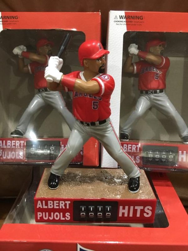 Los Angeles Angels Pujols Countdown to 3,000 Action Figure 8-24-18
