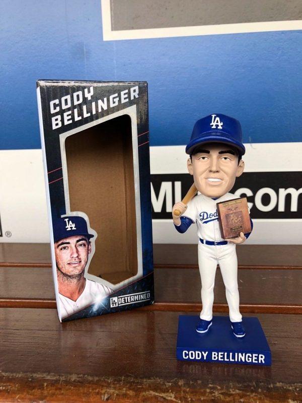 Los Angeles Dodgers Bobblehead Cody Bellinger ROY 4-21-18