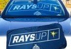 Tampa Bay Rays Car Sun Shade 4-21-2018