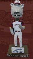 Wisconsin Rapid Rafters Rosco Bobblehead 6-20-2018
