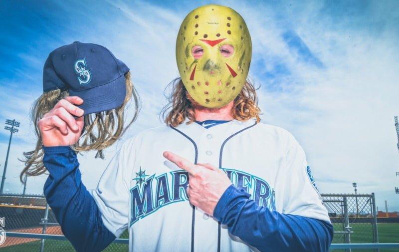 April 13, 2018 Seattle Mariners - Ben Gamel Cap