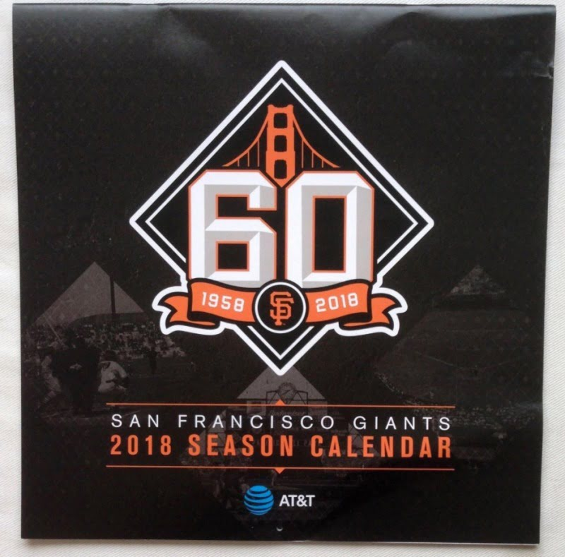 2018 san francisco giants giveaways
