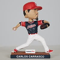 Cleveland Indians Carlos Carrasco Bobblehead 7-12-2018