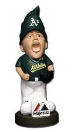As061613 Gnome Jun 16 Oakland Athletics vs. Seattle Mariners Grant Balfour Ragin Gnome