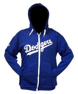 April 8, 2013 Detroit Tigers vs. Los Angeles Dodgers - Zip-Up Hoodie