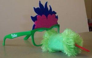 Phillies-Phanatic Phun glasses_5_18_2014