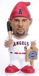 los angeles angels pujols gnome promo 5 20 14 May 20, 2014 Houston Astros vs Los Angeles Angels Albert Pujols Gnome