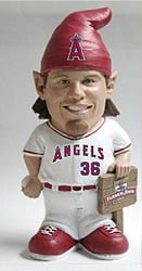 los angeles angels weaver gnome promo 6 6 14 June 6, 2014 Chicago White Sox vs. Los Angeles Angels Jered Weaver Gnome