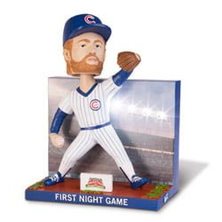 Chicago Cub_First Night game Bobblehead_8-8-2014