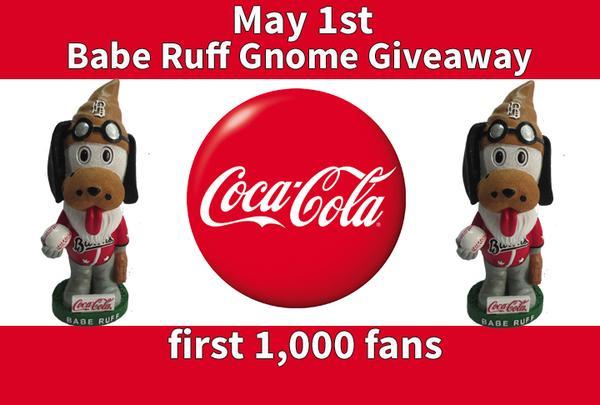 Birmingham Barrons - Babe Ruff Gnome - Chicago White Sox