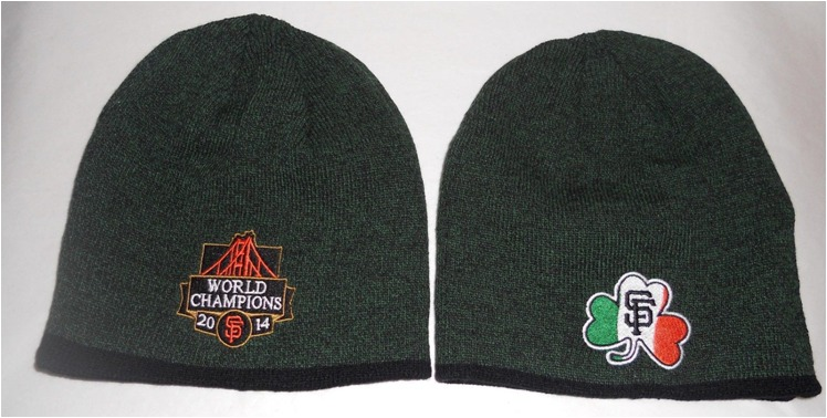 Irish Heritage Beanie - SF Giants - April 16, 2015 (1)