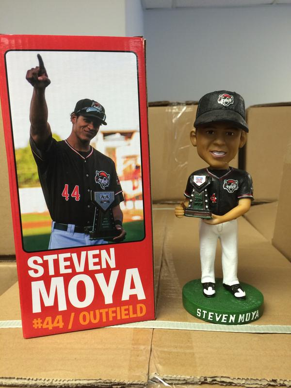 Steven Moya Bobblehead - Erie Seawolves - Detroit Tigers