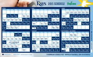 Tampa Bay Ray_Magnet Schedule_4-6-15
