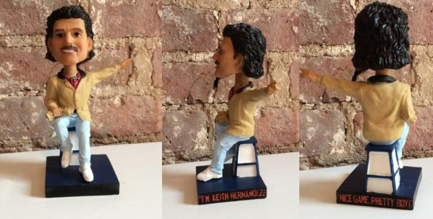 keith hernandez magic loogie bobblehead - brooklyn cyclones - new york mets (2)