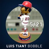 Boston Red Sox_Luis Tiant Bobblehead_5-21-15