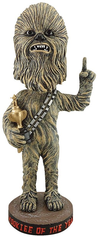 chewbacca vip bobblehead - san francisco giants