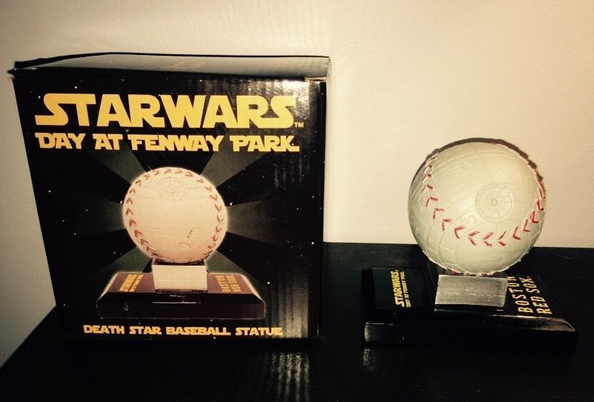 red sox deathstar baseball - red sox