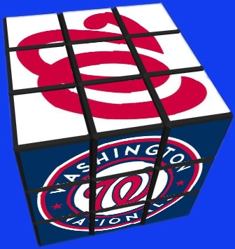 Washinton Nationals_rubiks cube_8-29-15